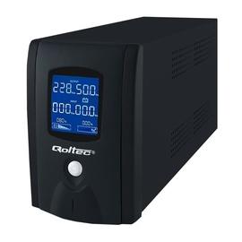 Qoltec UPS Qoltec UPS 1000VA / 600W / LCD