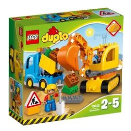 Konstruktor Lego Duplo Truck & Tracked Excavator 10812