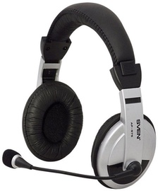 Sven AP-875 Over-Ear Headphones Black/Silver