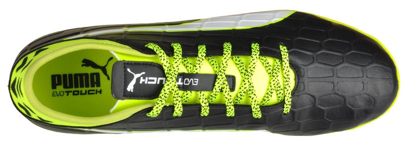 Puma Evo Touch 3 TT 103754 01 Black Yellow 45