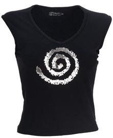 Bars Womens Shirt Black 128 S