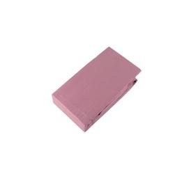 Простыня Domoletti Nostalgia Rose 17-1512 Pink, 90x200 см, на резинке