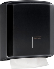 Mediclinics Paper Towel Dispenser Black