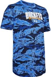 Under Armour Baseline Verbiage T-Shirt 1351295-486 Blue L