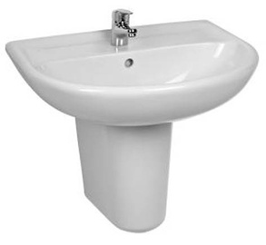 Jika Washbasin Leg Lyra Plus 19381 23.5x37cm White