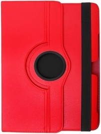 Etui Eco Leather Case with Rotated Stand P3200 Red