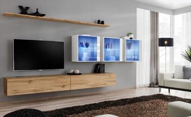 ASM Switch XVII Wall Unit Wotan Oak/White