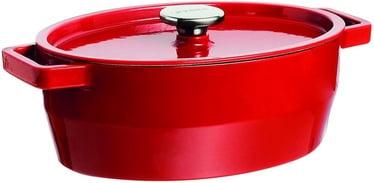 Pyrex SlowCook Oval Cast Iron Casserole 29cm 3.8L