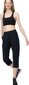 Naiste 3/4 püksid Audimas Sensitive, must, M