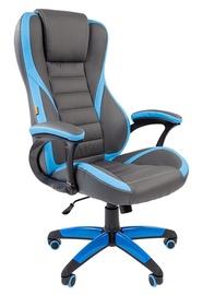 Игровое кресло Chairman Game 22 Grey Blue