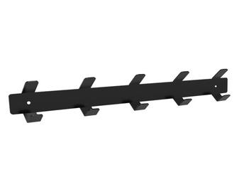 Glori ir Ko PK445 Wall Coat Rack Black