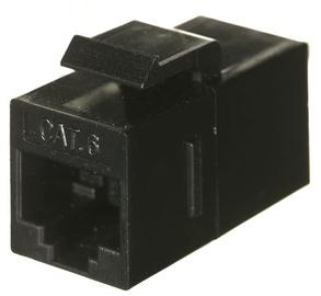 A-Lan Modular Coupler CAT 6 STP Black 100pcs
