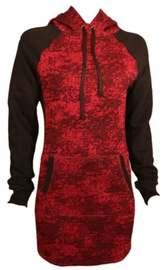 Bars Womens Hoodie Bordo/Black 153 L