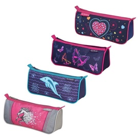 Herlitz Pencil Pouch Sport Girls Mix Designs