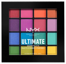 Lauvärv NYX Ultimate Shadow Palette Brights, 16x0.83 g