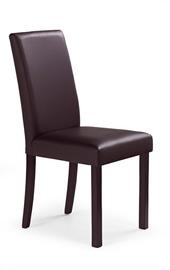 Söögitoa tool Halmar Nikko Dark Walnut/Dark Brown
