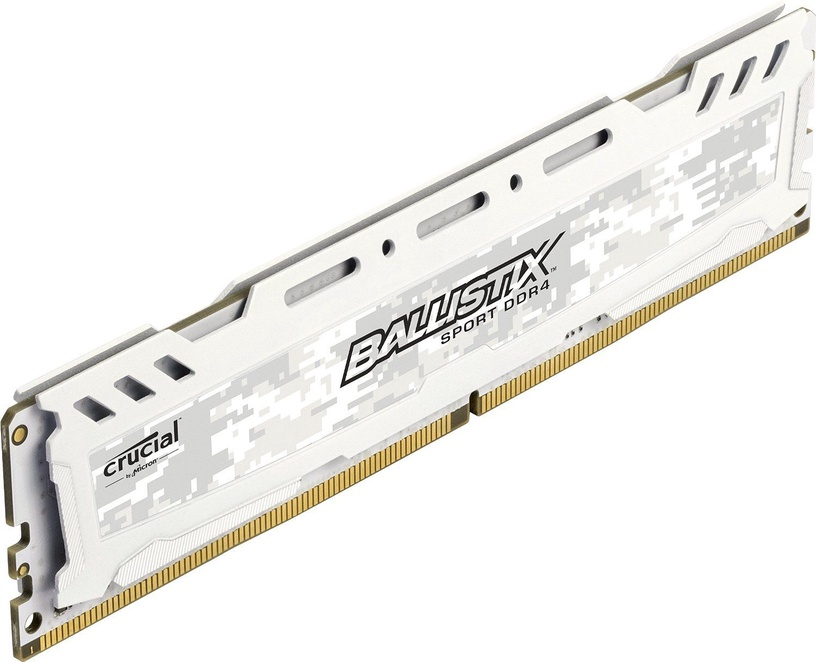 Crucial Ballistix Sport LT White 16GB 2666MHz CL16 DDR4 BLS16G4D26BFSC