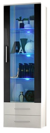 ASM Neo I Display Cabinet White Gloss/Black
