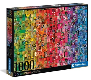 Pusle Clementoni ColorBoom Collection, 1000 tk
