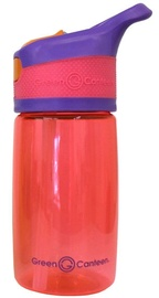 Green Canteen Flip Cap for Kids 0.4l Pink