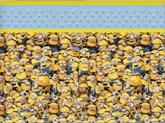 GoDan Lovely Minions Tablecloth 120x180cm