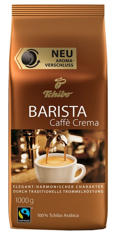 Tchibo Barista Cafe Crema Coffee Beans 1kg