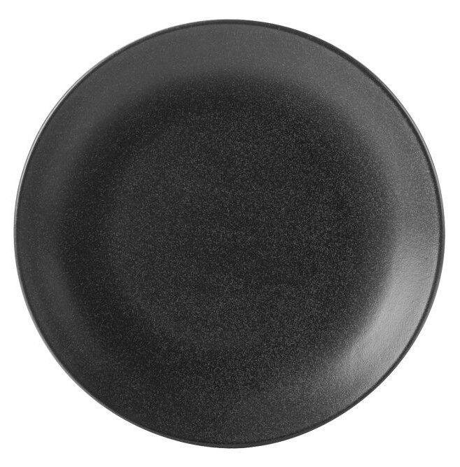 Porland Seasons Dinner Plate D30cm Black