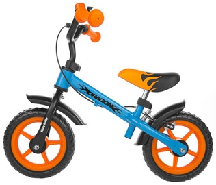Lastejalgratas Milly Mally Dragon Bike Race With Brakes Blue / Orange 1452