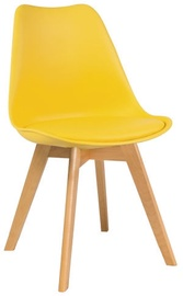 Söögitoa tool Signal Meble Kris Beech Yellow, 1 tk