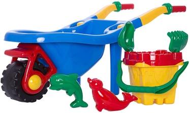 Liivakasti mänguasjade komplekt 4IQ, 6 tk