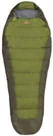 Спальный мешок Pinguin Tramp Green, правый, 195 см