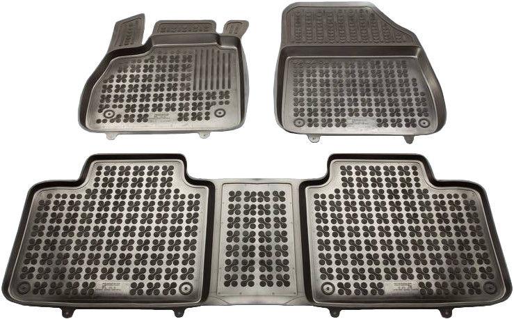 REZAW-PLAST Renault Espace V 2014 Rubber Floor Mats