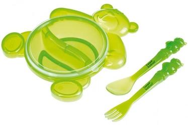 Canpol Babies Bear Bowl With Cutlery Set Assort