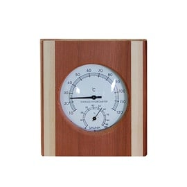 Flammifera AP-052BW Sauna Thermometer with Hygrometer
