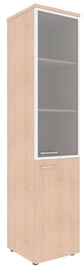 Skyland Xten Office Cabinet XHC 42.7 Right Tiara Beech