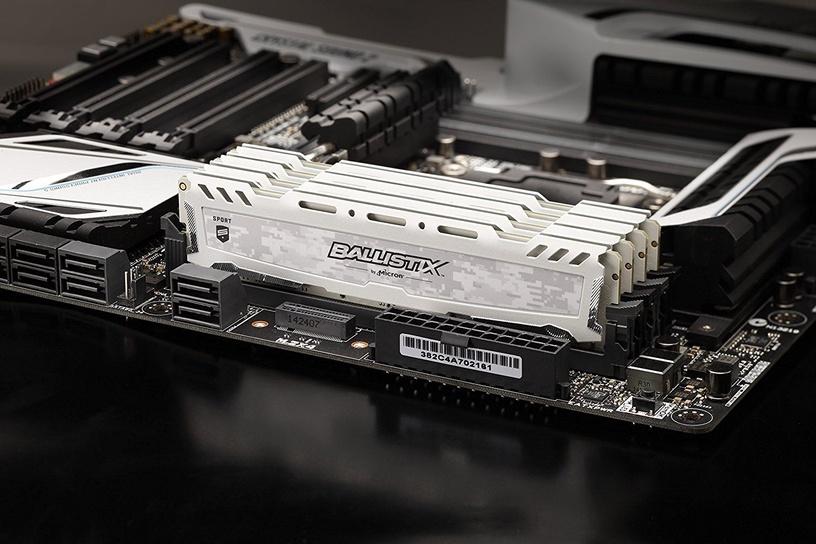 Crucial Ballistix Sport 16GB 2400MHz CL16 DDR4 OC KIT OF 2 BLS2C8G4D240FSCK