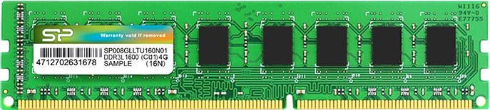 Silicon Power 4GB 1600MHz CL11 DDR3 SP004GLLTU160N02