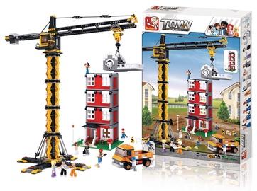 Sluban Town Tower Crane 1461pcs M38-B0555