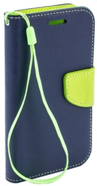 TakeMe Fancy Diary Bookstand Case For Samsung Galaxy S10e Blue/Light Green