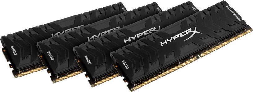 Kingston 32GB 3000MHz DDR4 CL15 HyperX Predator KIT OF 4 HX430C15PB3K4/32