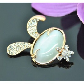 Vincento Brooch With Zirconium Crystal LD-1104