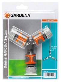 "Gardena Two-way Hose Coupling Set 13mm 1/2"""