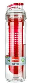 Vetro-Plus Water Bottle 0.5l Red