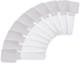 Label The Cable PRO Wall Velcro Cable Holder Set of 50 White