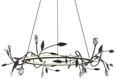 Candellux Giaros Hanging Ceiling Lamp 36W LED 4000K Black