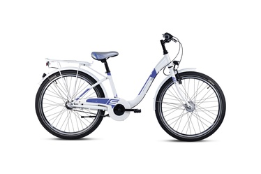 Laste jalgratas Scool Chix 24'' White/Purple 20