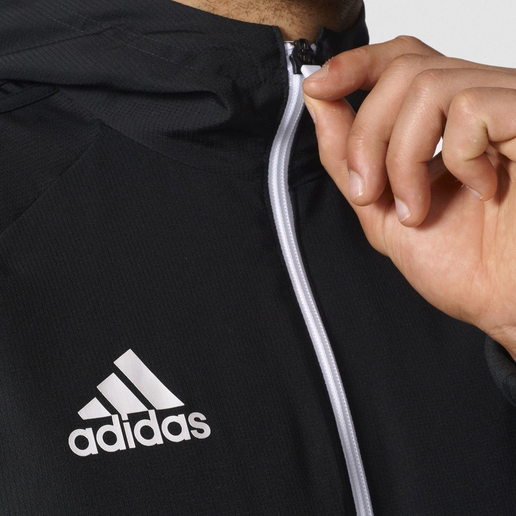 Adidas Tiro 17 Presentation Jacket BQ2776 Black White S