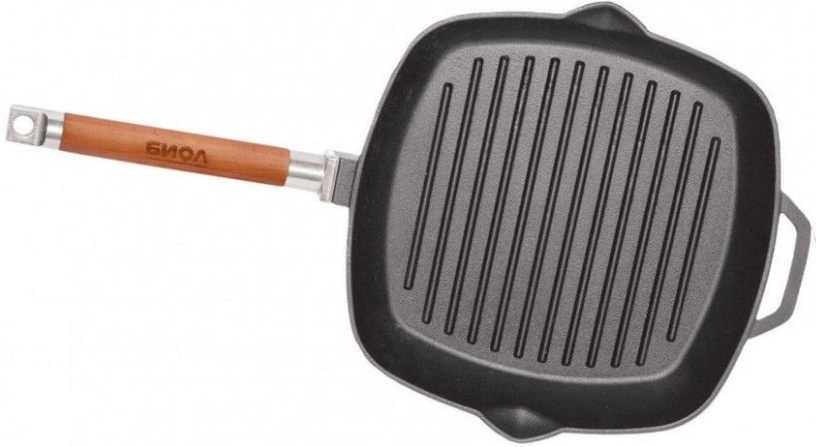Biol Casting Iron Grill Pan SC025 28cm