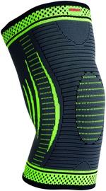 Mad Max 3D Compressive Knee Support Dark Grey/Neon Green L