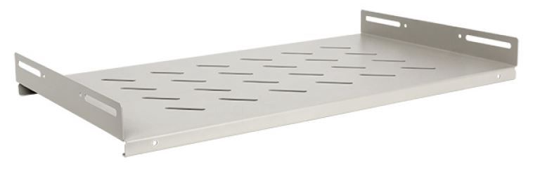 Linkbasic Fixed Shelf 19'' 275x471mm Grey